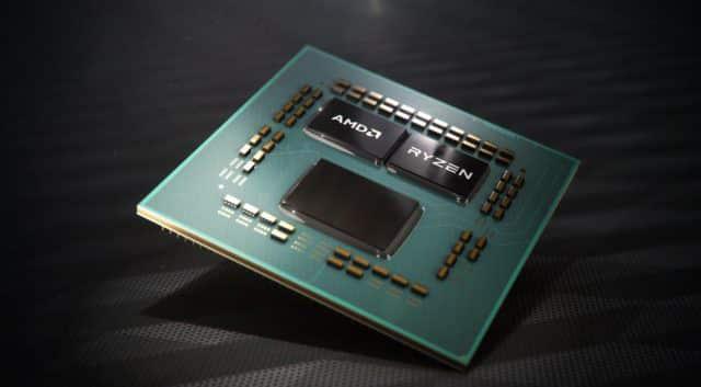 Les DIE d'un AMD ryzen