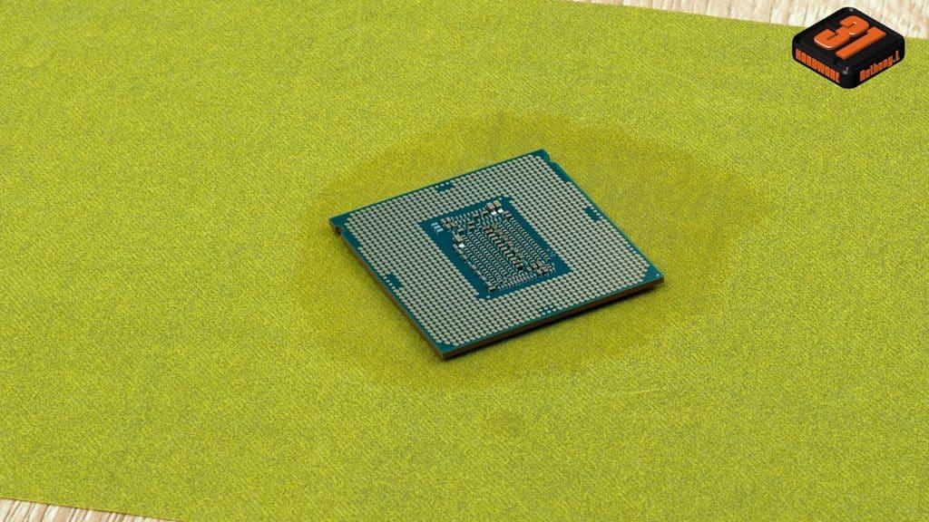 Ponçage du DIE dans notre article Intel DELID 9900K : procédure, test et réel utilité