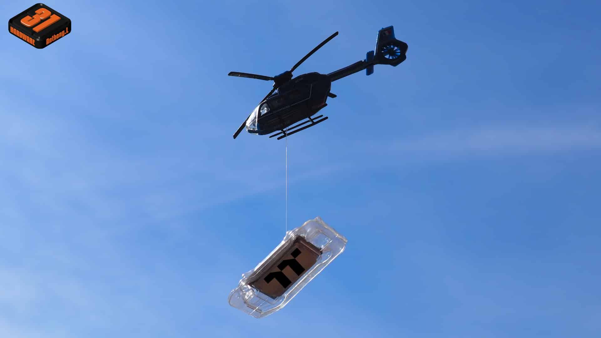Episode 6 : Fin du  DELID 'efuite, rapatriement en hélicoptère