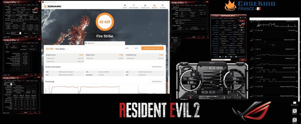 Resident evil 2 Evolv X firestrike 2080 Ti 9900K