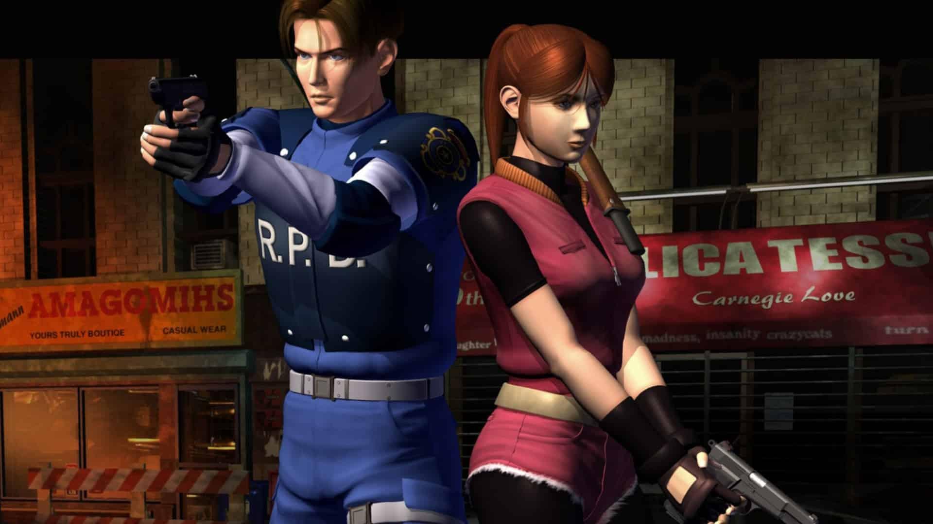 Image de présentation pour le workblog modding Resident evil 2