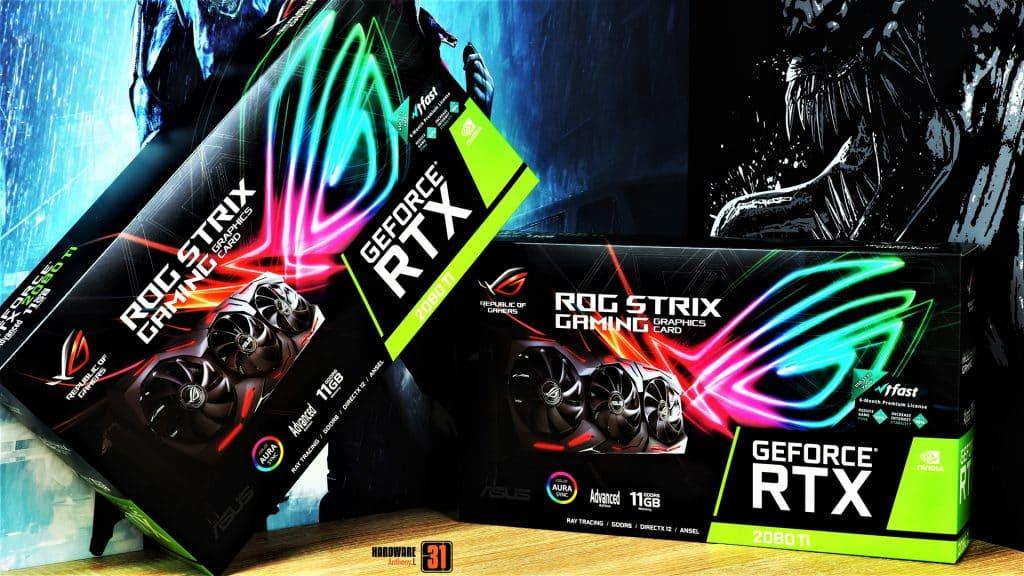 Shooting des ROG Strix RTX 2080 Ti pour le projet modding Resident Evil 2