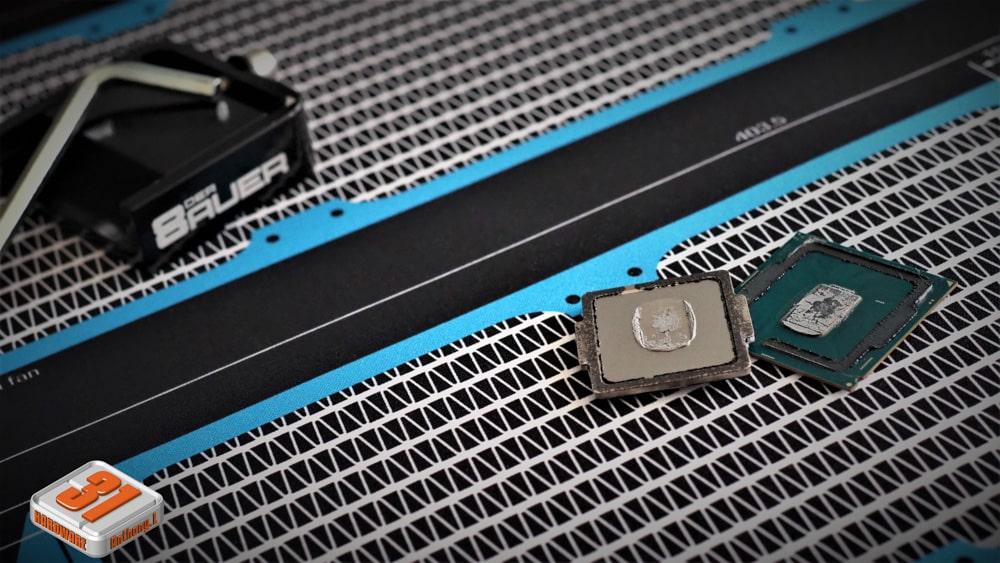 Une manipulation réussi dans notre tutoriel DELID pour décapsuler votre processeur Intel en toute sécurité