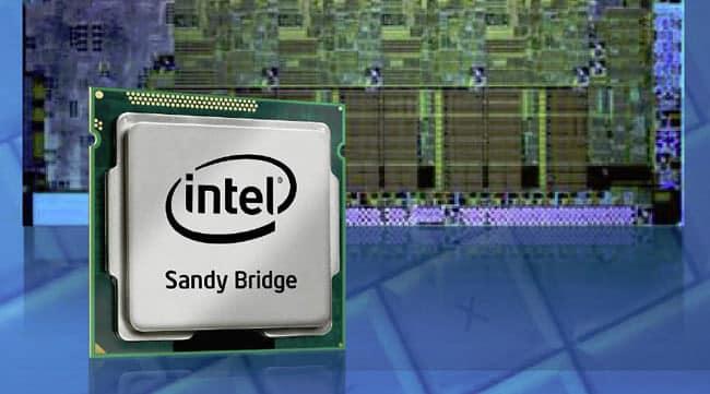 Illustration Sandy bridge utilisé dans notre tutoriel DELID pour décapsuler votre processeur Intel en toute sécurité
