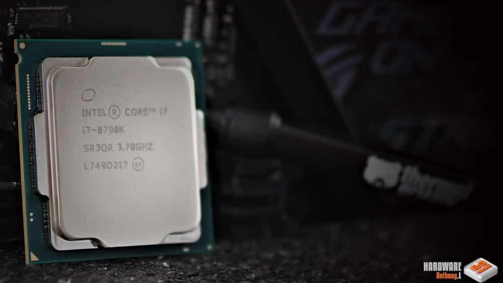 Le 8700K de notre tutoriel DELID pour décapsuler votre processeur Intel en toute sécurité