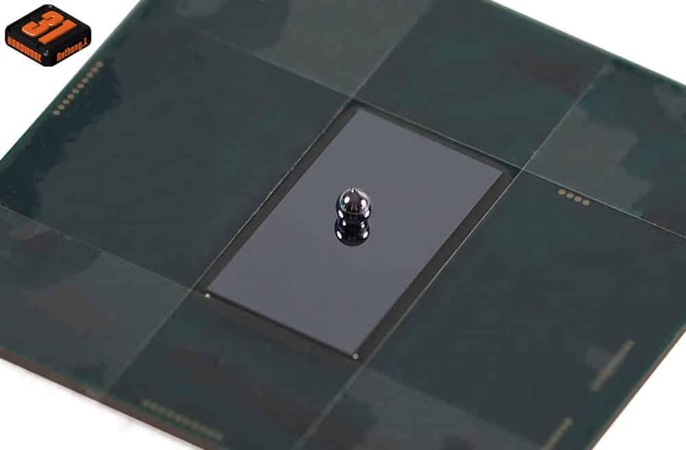 Le dosage parfait de la conductonaut utilisé dans notre tutoriel DELID pour décapsuler votre processeur Intel en toute sécurité