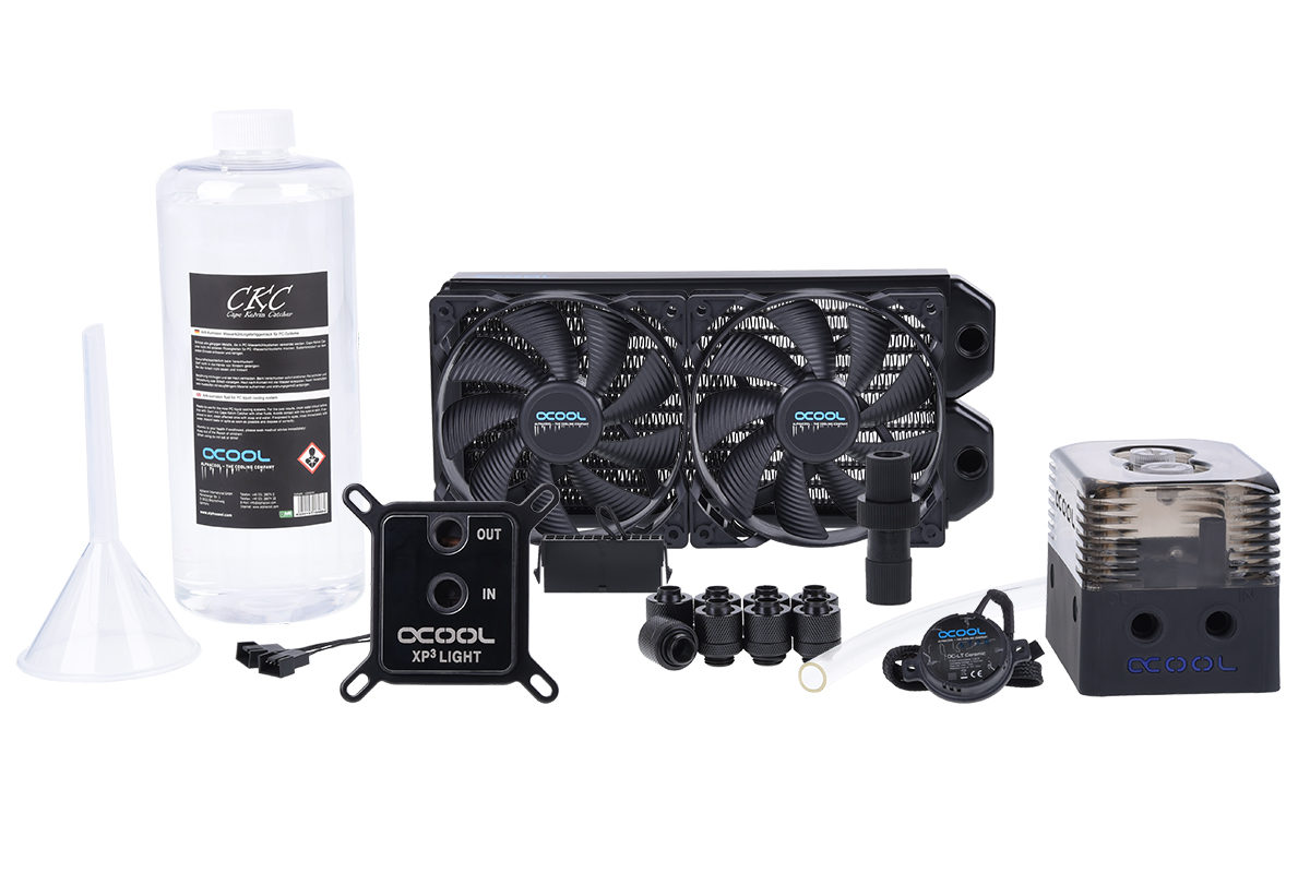 Un kit Alphacool DIY en 240mm