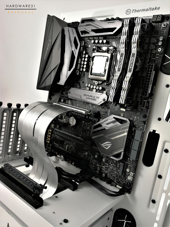 Worblog du projet modding Galax GOC 2017 Silver et Snow par Hardware31