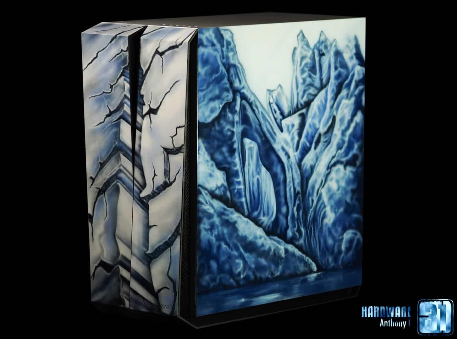 Worblog du projet modding Phanteks glacier RL07 par Hardware31