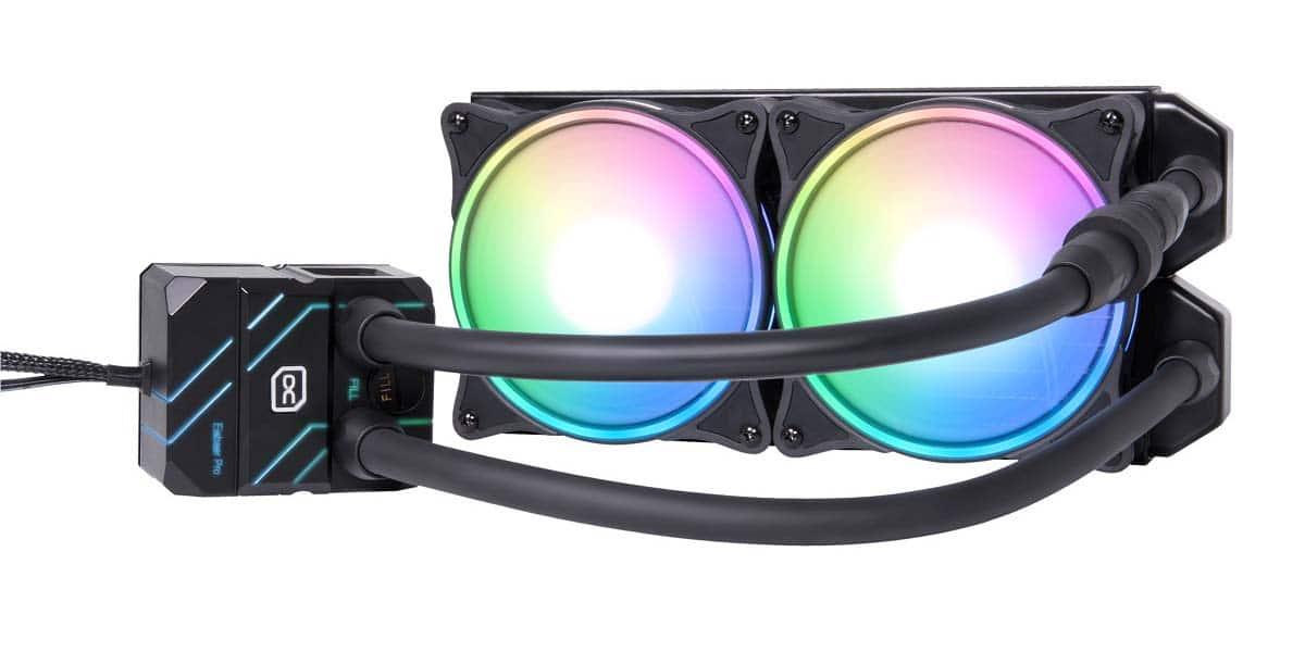 Alphacool présente sa nouvelle gamme d'AIO Eisbaer Pro Aurora en 240 mm
