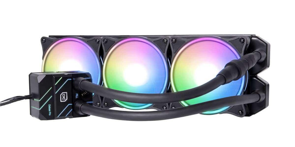 Alphacool présente sa nouvelle gamme d'AIO Eisbaer Pro Aurora en 360 mm
