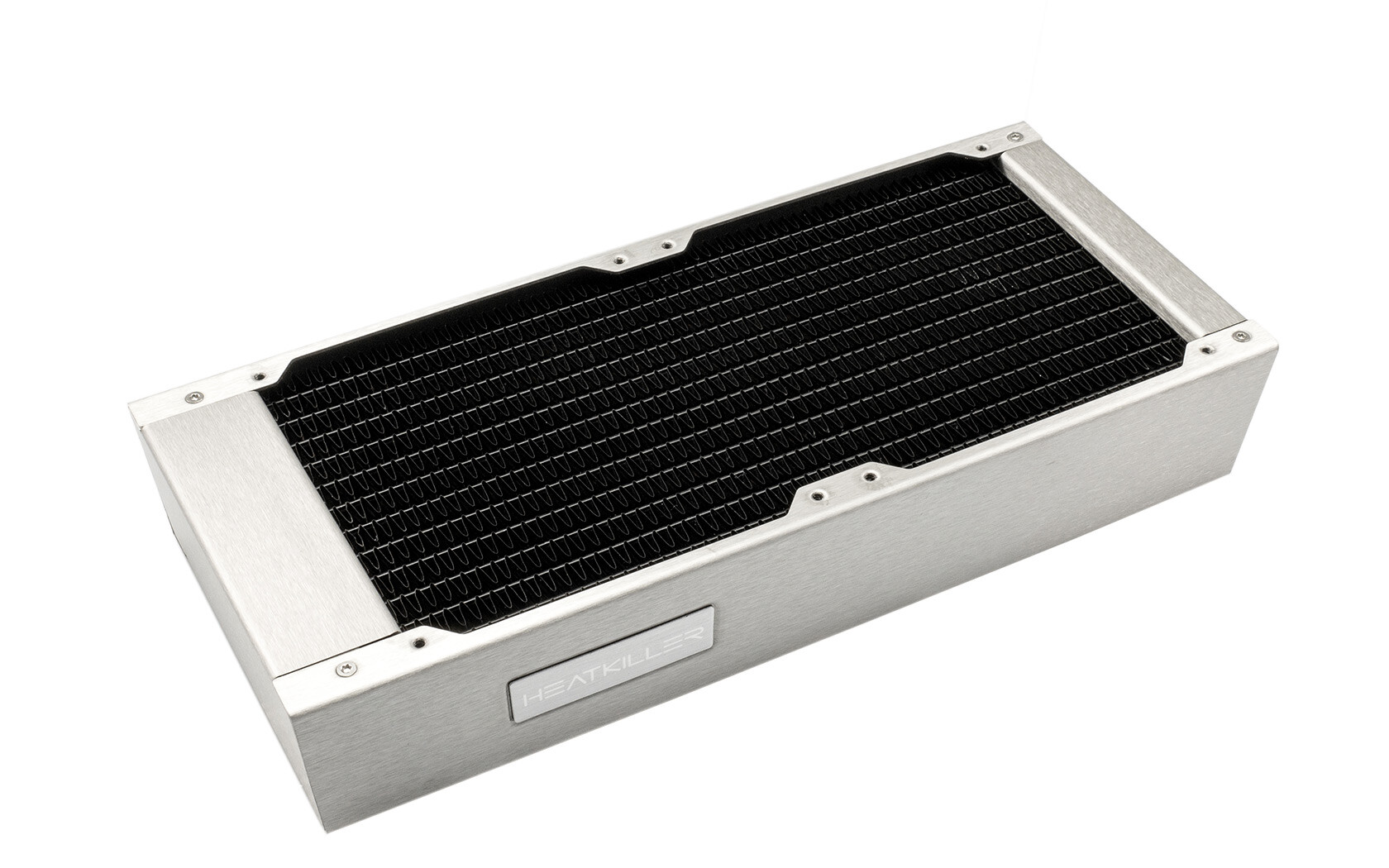 Watercool présente ces nouveaux radiateurs Heatkiller Rad 240 L Acier Inoxydable