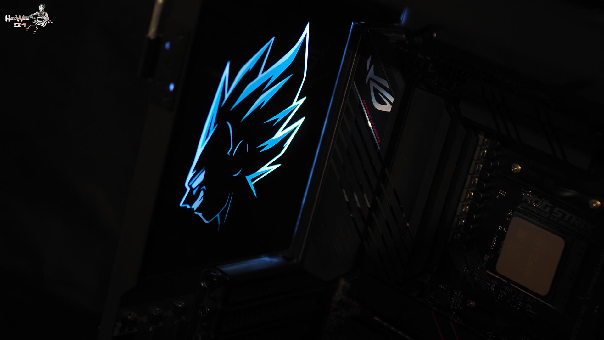 Réalisation de l'arrière intérieur du PC Végéta P600S Final Flash