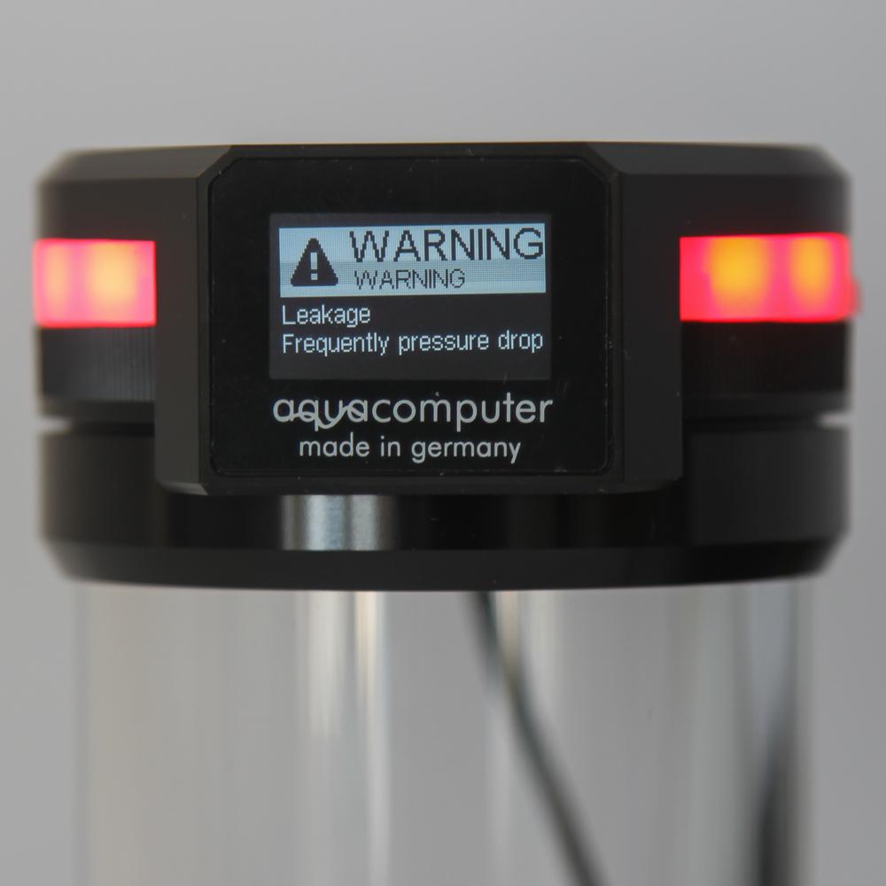 Aqua Computer présente sa protection antifuite Leakshield avec son logiciel équipée d'une alarme