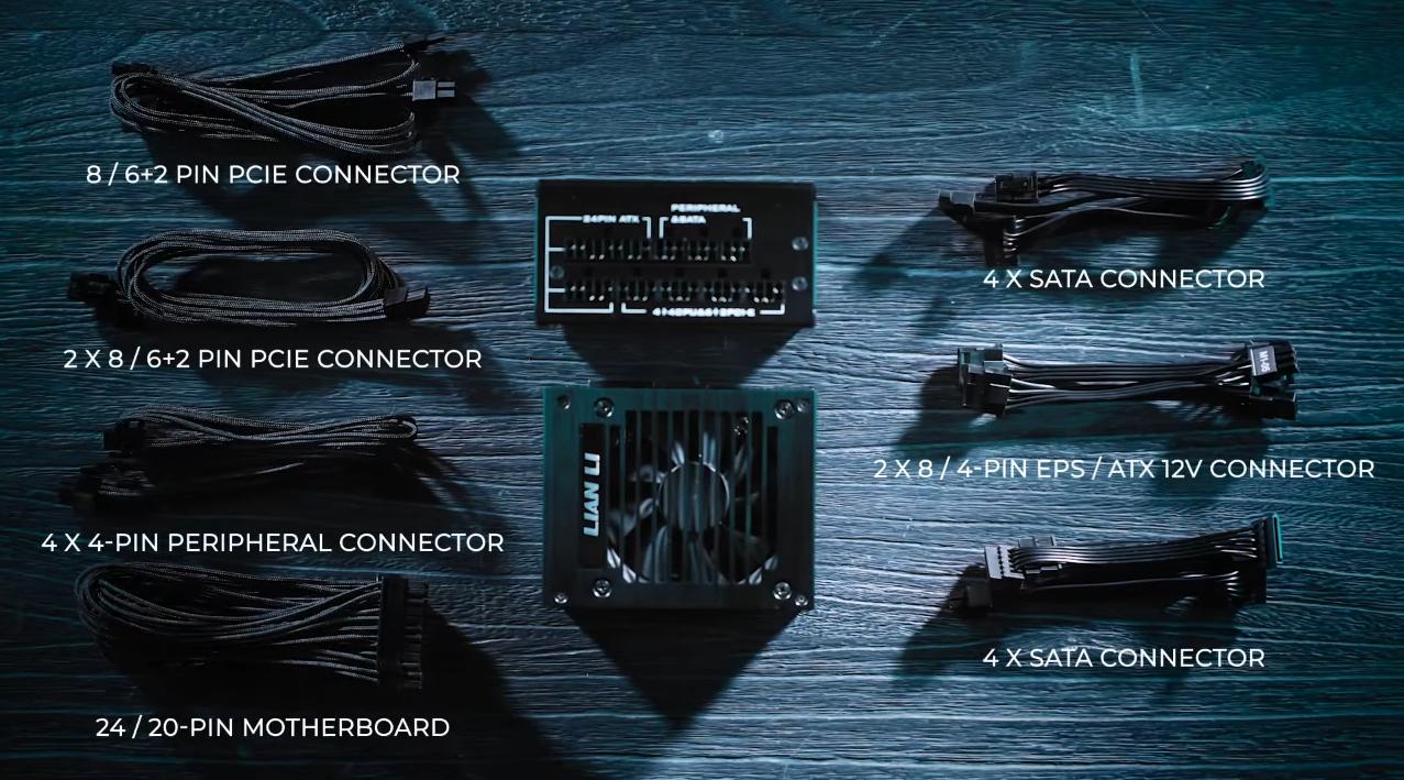 Lian Li officialise la SP750, une alimentation au format SFX au design soigné