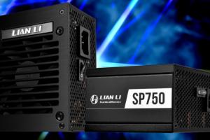 Lian Li officialise la SP750, une alimentation au format SFX silencieuse