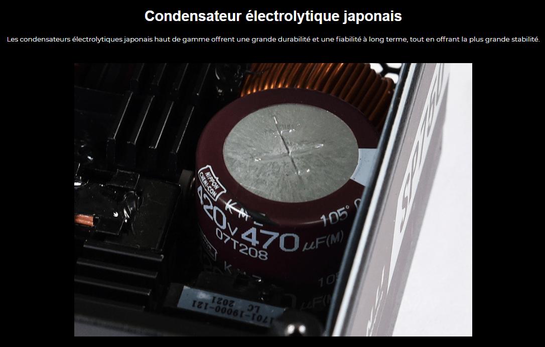 Lian Li officialise la SP750, une alimentation au format SFX avec des condensateurs japonais