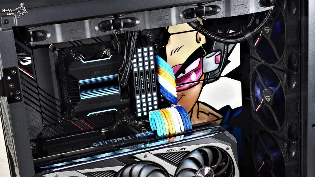 Shooting final du projet Modding P600S Final Flash - Un PC gamer DBZ à l'effigie de Végéta ! par Hardware31