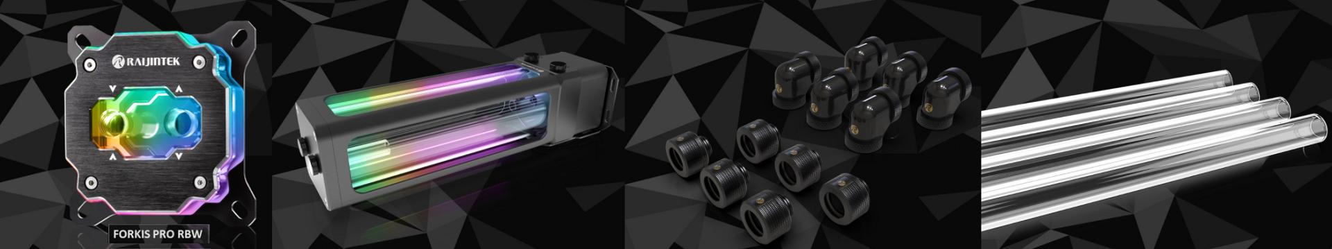 Raijintek présente ses nouveaux kit watercooling custom Scylla Pro CA240/CA360
