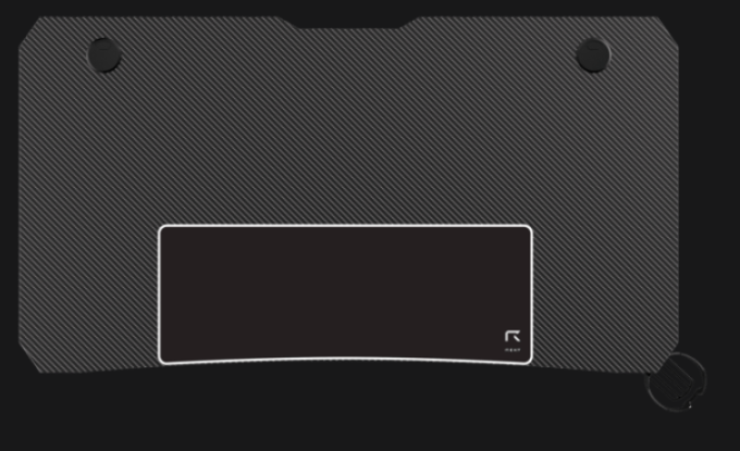Le R-DESK 110 est le plus compact des bureaux gamer REKT