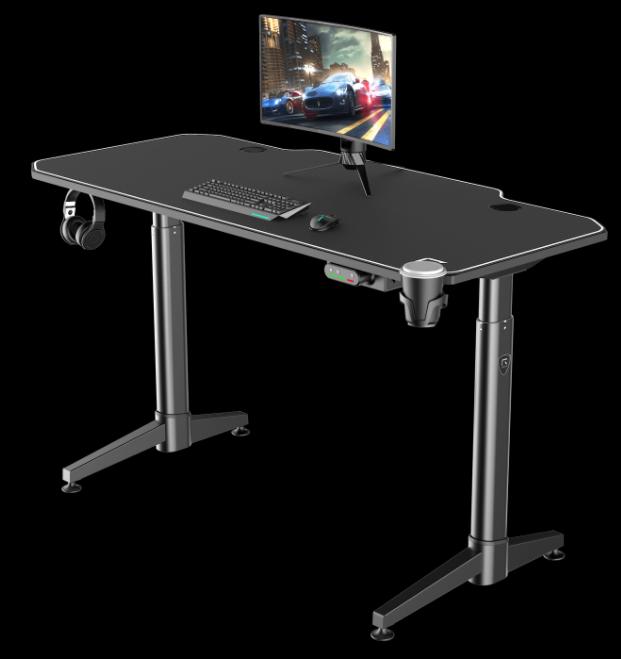 Le RGo-DESK 140 est le plus premium des bureaux gamer REKT