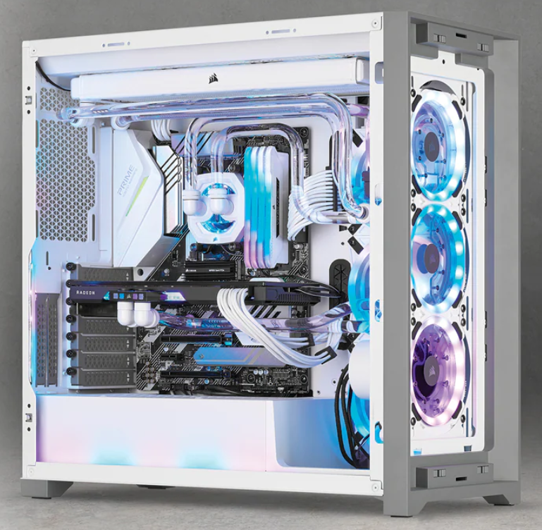 Corsair présente la distro/pompe Corsair Hydro XD7 RGB de la gamme X Series en Blanc