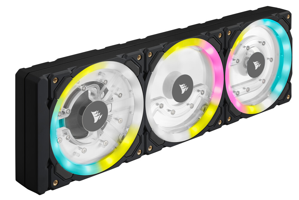 Corsair présente la distro/pompe Corsair Hydro XD7 RGB de la gamme X Series en Noir