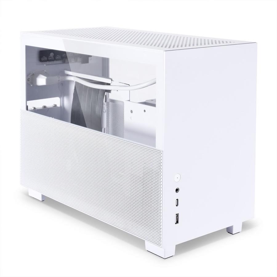Lian Li présente le Q58 son mini boîtier pour format ITX en blanc