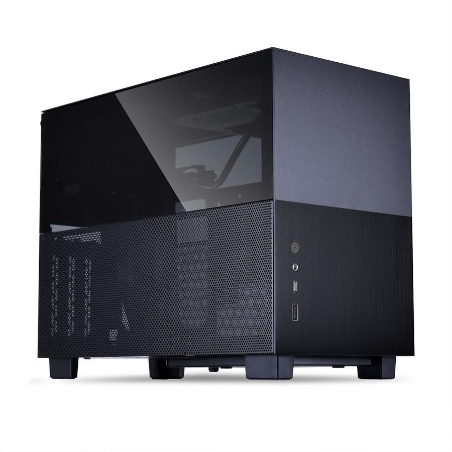 Lian Li présente le Q58 son mini boîtier pour format ITX en noir